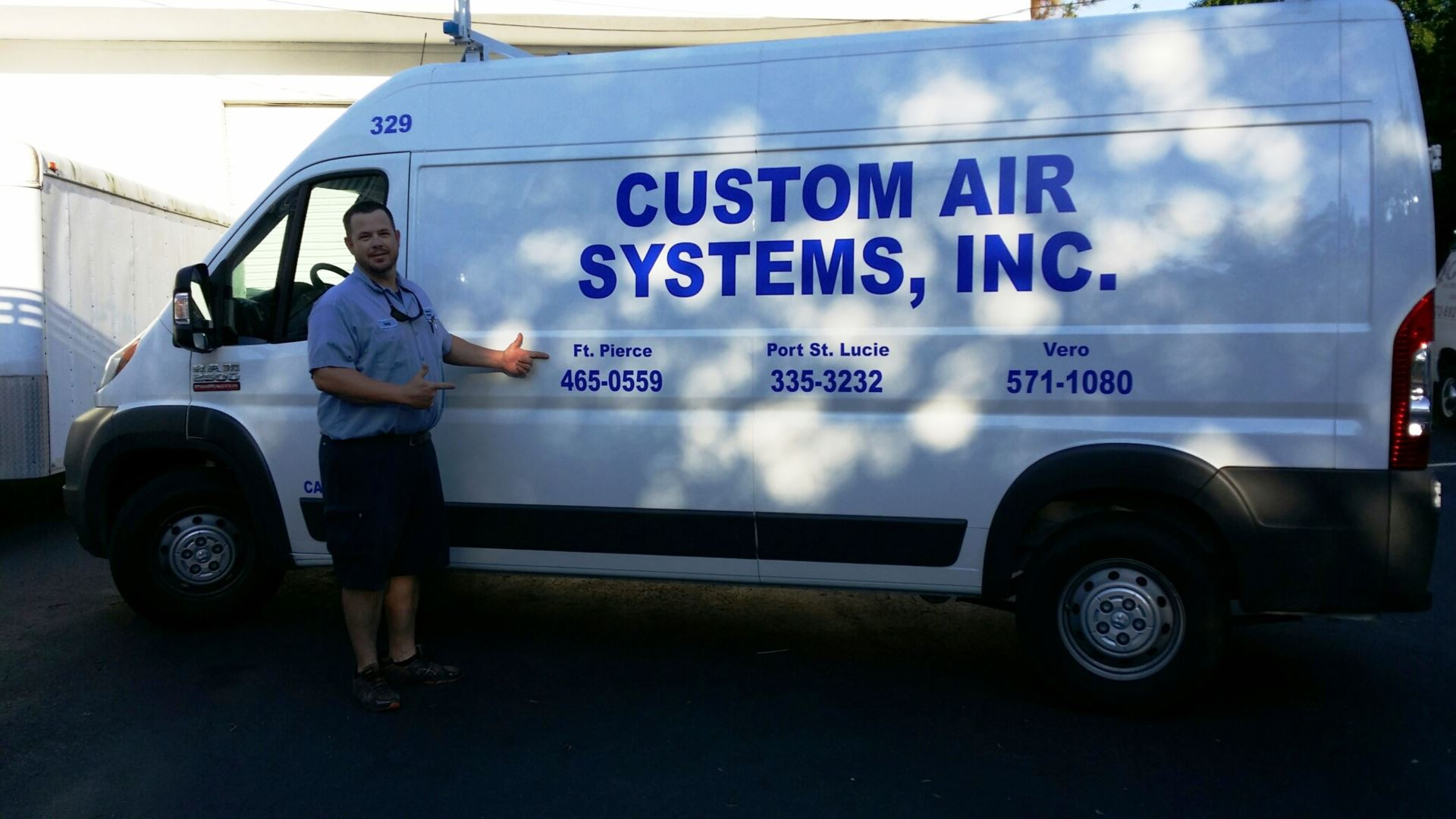 Nathan Gates our air condition and appliance technician has been with our team for 11 years.