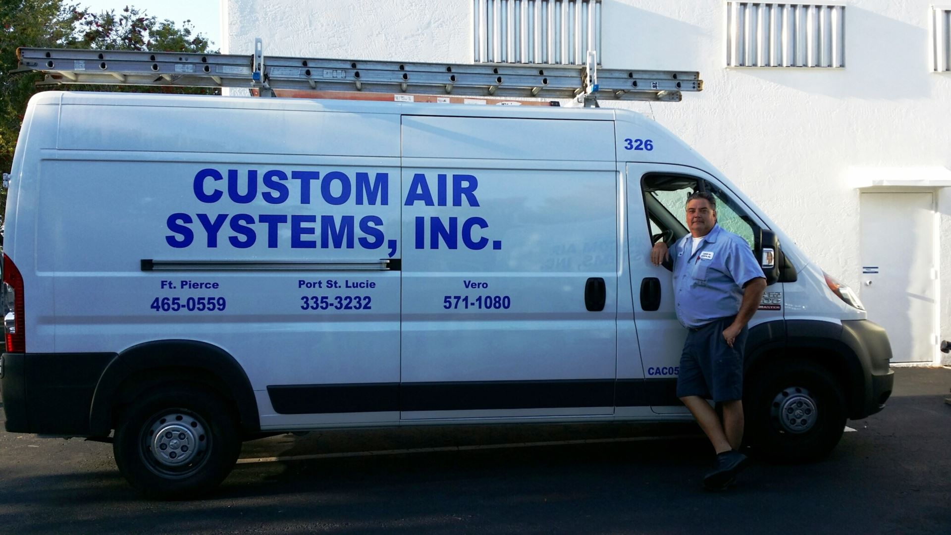 Ronnie Lauch our Service Manager for air condition and appliance has been with our team for 22 years.